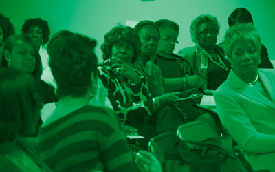 Women Talking in Sunday School