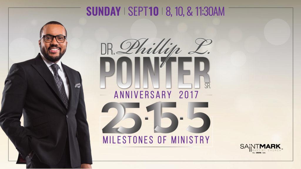 Pastor's 5th Anniversary - 25-15-5