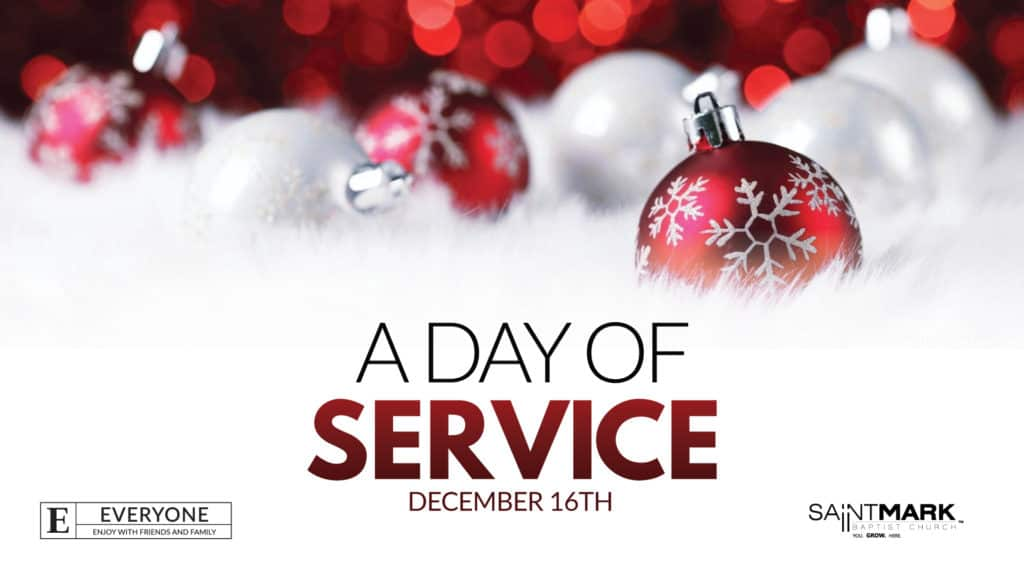 A Saint Mark Christmas - Day of Service