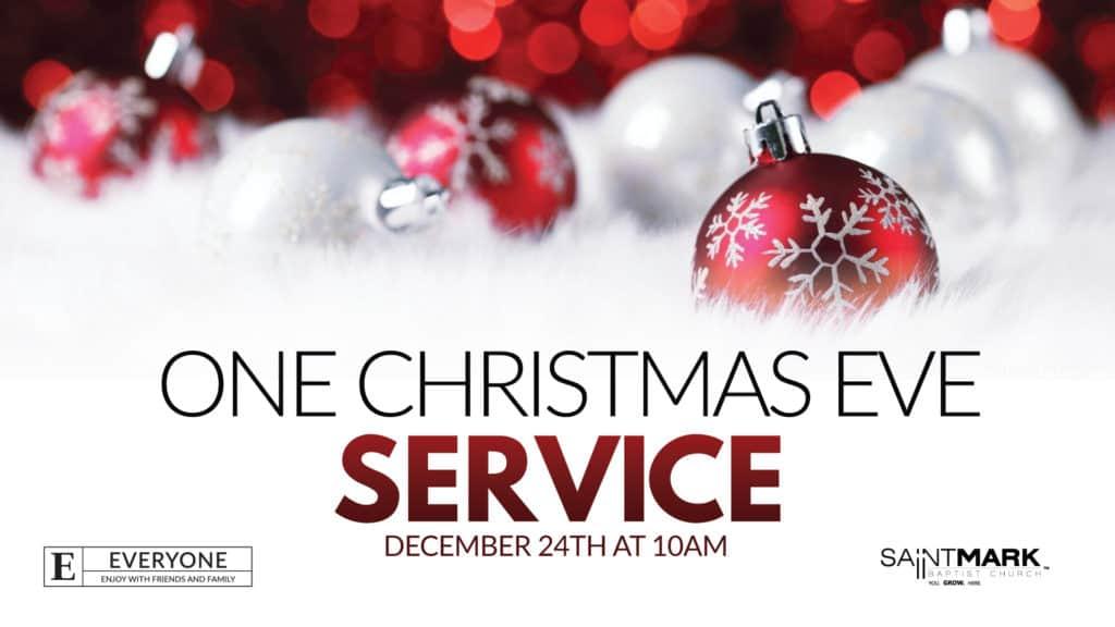 A Saint Mark Christmas - One Christmas Eve Service