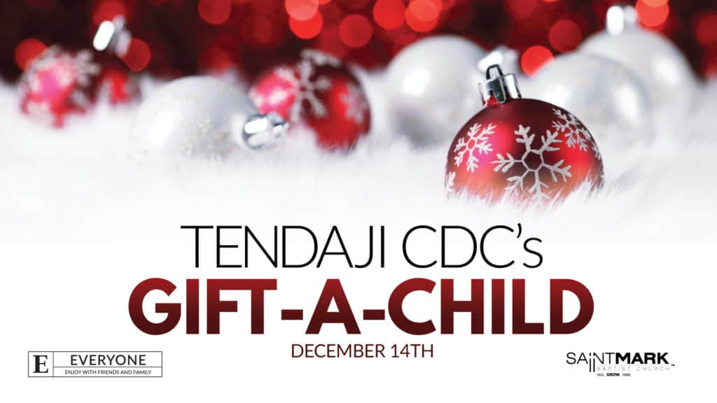 A Saint Mark Christmas - Gift-A-Child